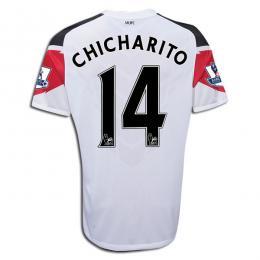 10 11 Manchester United  14 Chicharito Away Jersey Shirt ... 9c47175eb