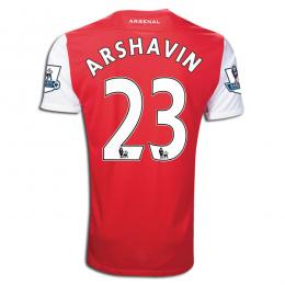 fd3411f03 11 12 Arsenal  23 Arshavin Red Home Soccer Jersey Shirt Replica ...