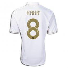 6431f51e419 11/12 Real Madrid #8 Kaka Home White Replica Soccer Jersey Shirt ...