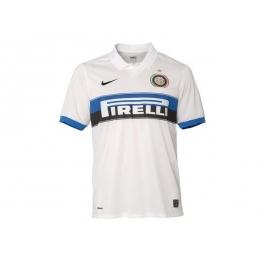 new arrival 8bf6b 7cd06 09/10 Inter Milan Away White Jersey Shirt