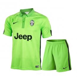 newest a8227 bef2f 14-15 Juventus Away Green Jersey Shirt Kit(Shirt+Short)