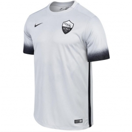 15-16 Roma Away Grey Soccer Jersey Shirt  7e38eec4f