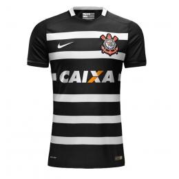bc3626176 16-17 SC Corinthians Away Black Jersey Shirt