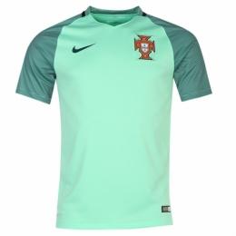 66d576d1629 2016 Portugal Away Green Jersey Shirt(Player Version)