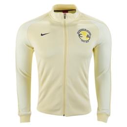 52212cf72 16-17 Club America Yellow N98 Track Jacket | Club America Jersey ...