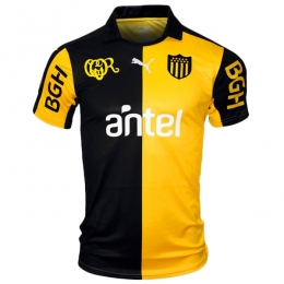 93d55b8b1bd 16-17 Club Atlético Peñarol Home Yellow Black Jersey Shirt