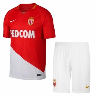 17-18 AS Monaco FC Home Soccer Jersey Kit(Shirt+Short)  c0da168ee