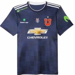 17-18 Club Universidad de Chile Home Soccer Jersey Shirt  120b63759