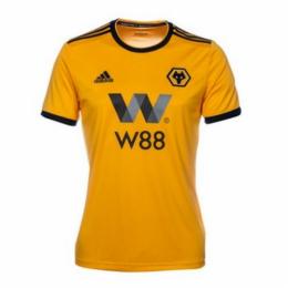 f6d7856a8 18-19 Wolverhampton Wanderers Away White Soccer Jersey Shirt ...