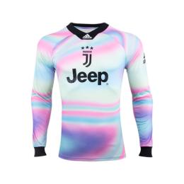 best sneakers 4cc5f 07751 18-19 Juventus EA Sports White Long Sleeve Jerseys Shirt