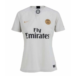 low priced 54d52 c7873 18-19 PSG Away White Women's Soccer Jersey Shirt