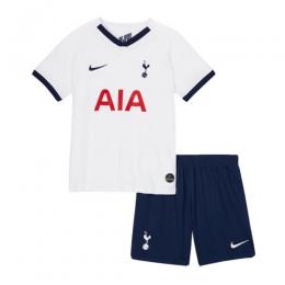 19/20 Tottenham Hotspur Home White Children's Jerseys Kit(Shirt+Short)