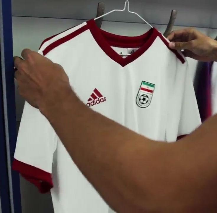 d5e301199 2018 World Cup Iran Home White Jersey Shirt