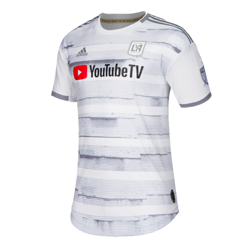 sneakers for cheap 3c6a1 b73dd 2019 Los Angeles FC Away White Soccer Jerseys Shirt(Player Version)