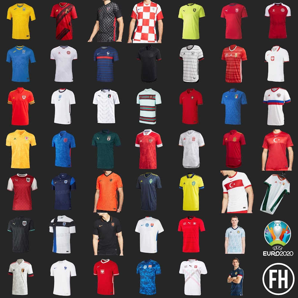 What's your favorite from the Euro 2020 kits?
