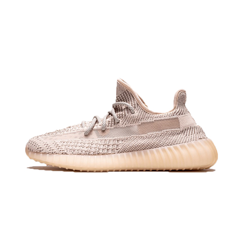 """Adidas Yeezy 350 V2 """"Synth"""" (Non-Reflective) Cleat-Light Pink"""