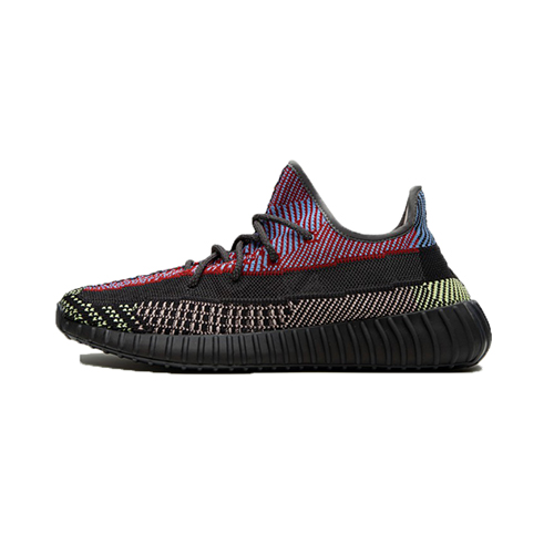 "Adidas Yeezy 350 V2 ""Yecheil"" Cleat-Black&Blue&Purple"