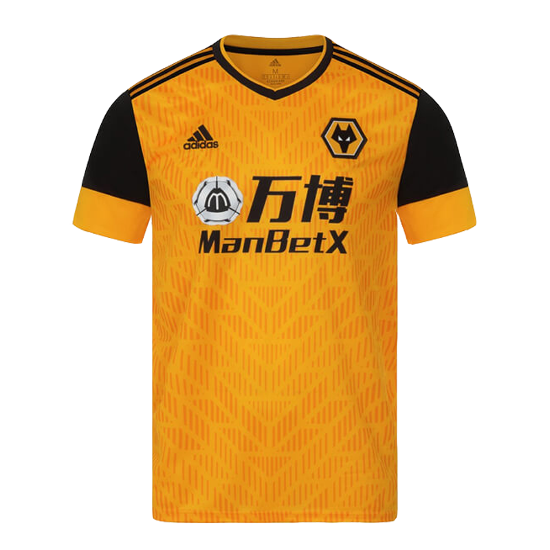 Replica Wolverhampton Wanderers Home Jersey 2020/21 By Adidas