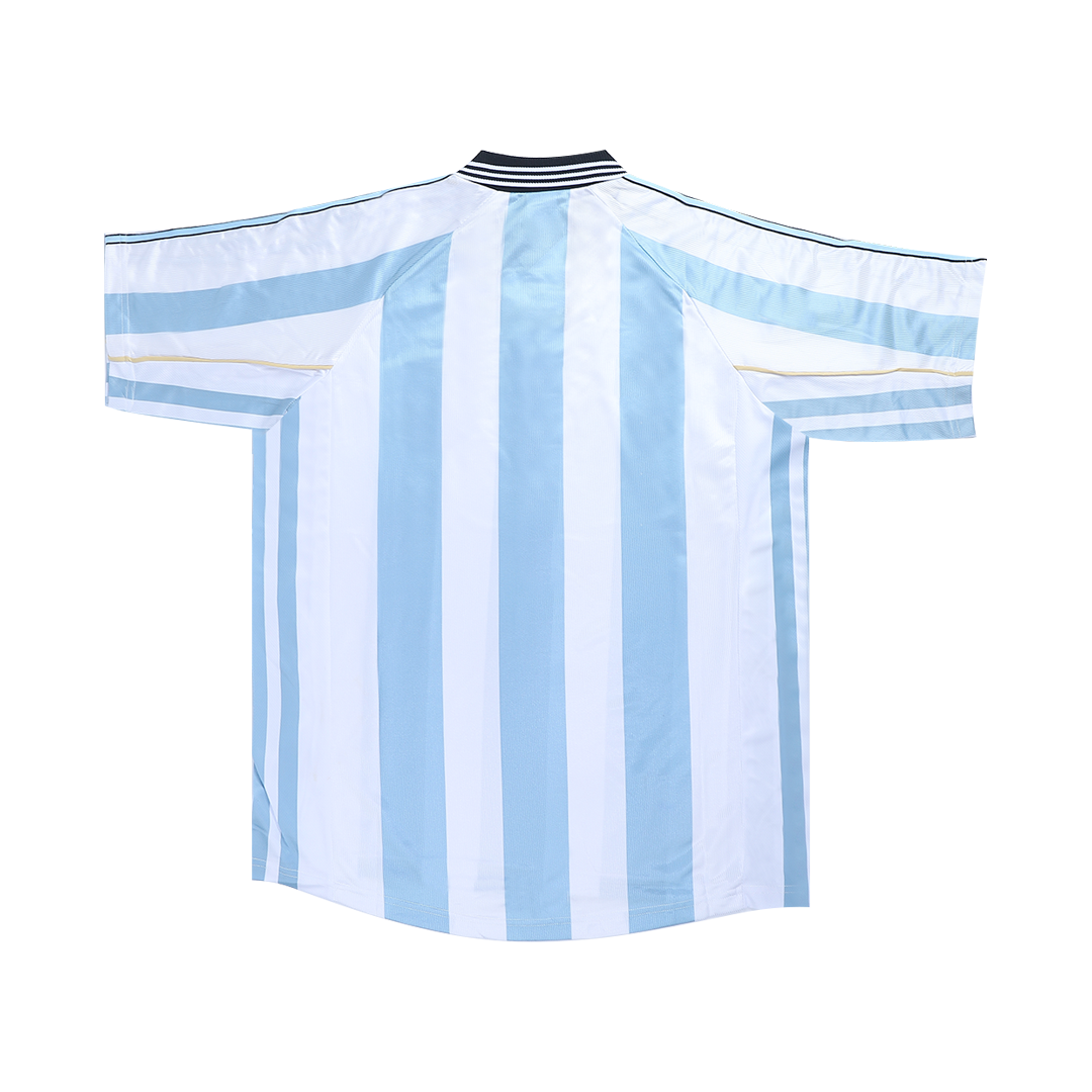 Retro Argentina Home Jersey 1998 By Adidas