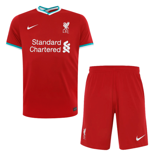 Liverpool Home Kit 2020/21 By Nike