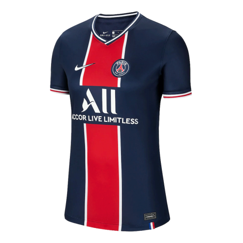 20/21 PSG Home Navy Women's Soccer Jerseys Shirt