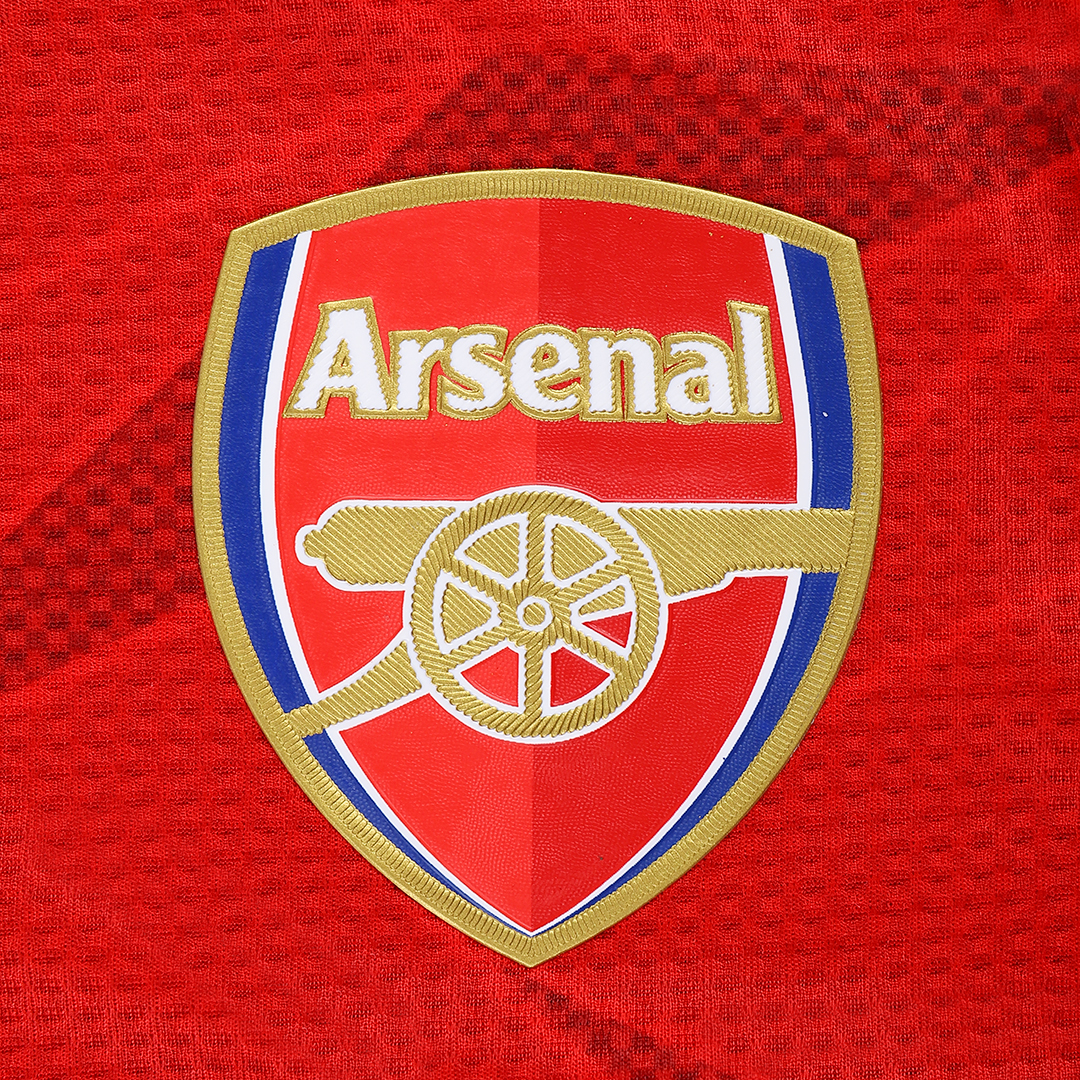 20/21 Arsenal Home Red Soccer Jerseys Shirt(Player Version)