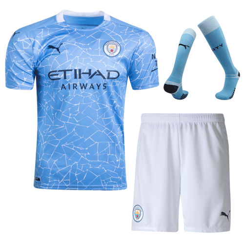 Manchester City Home Full Kit 2020/21 By Puma