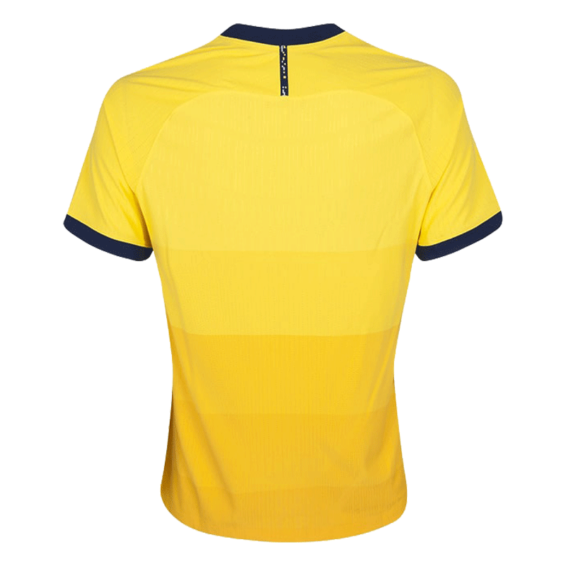 20/21 Tottenham Hotspur Third Away Jersey Yellow Soccer Jerseys Shirt