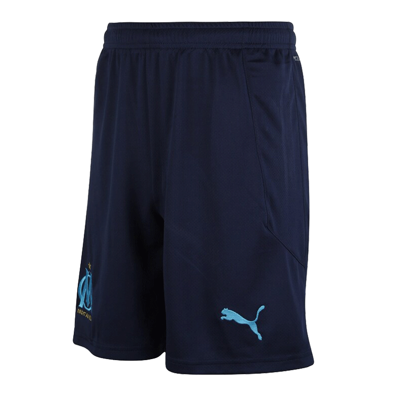 20/21 Marseilles Away Short Navy Soccer Jerseys Short