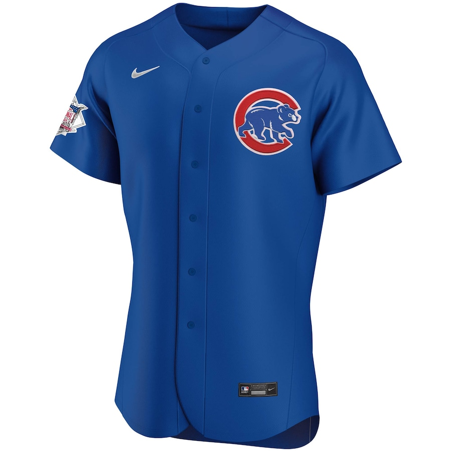 Javier Baez #9 Chicago Cubs Alternate 2020 Authentic Player Jersey - Royal