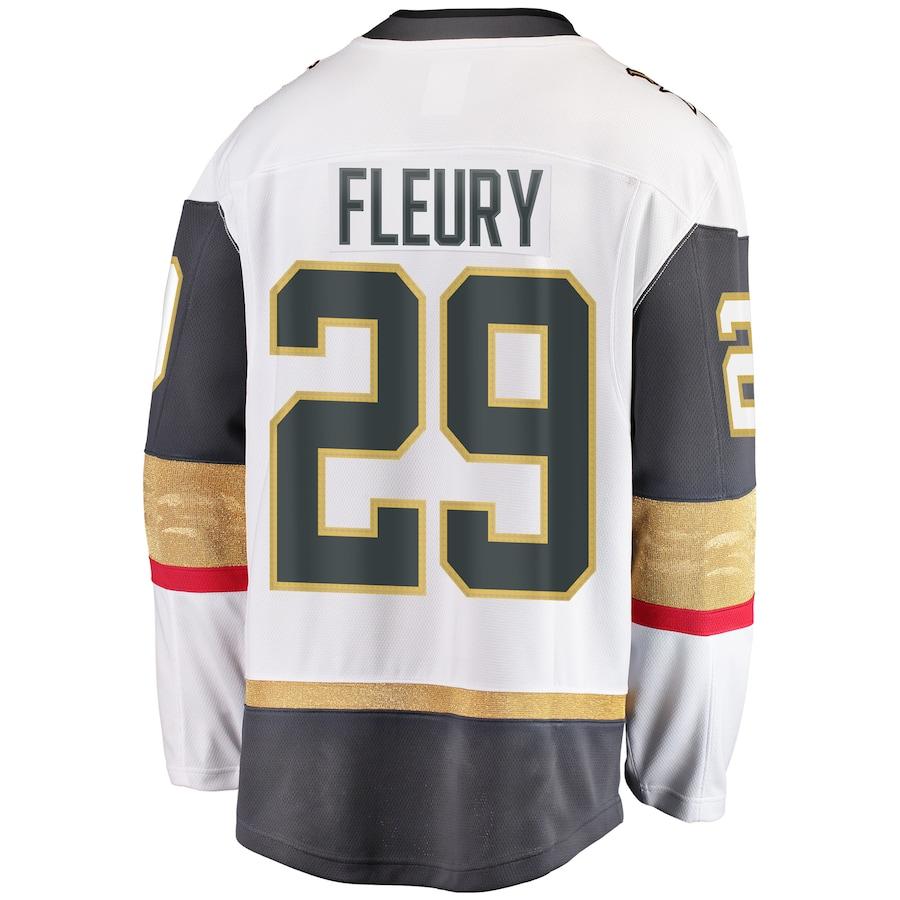 Marc-Andre Fleury #29 Vegas Golden Knights NHL Away Breakaway Player Jersey - White