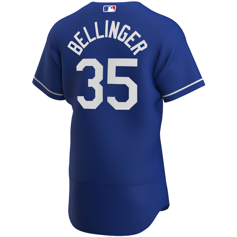 Cody Bellinger #35 Los Angeles Dodgers Alternate 2020 Authentic Player Jersey - Royal