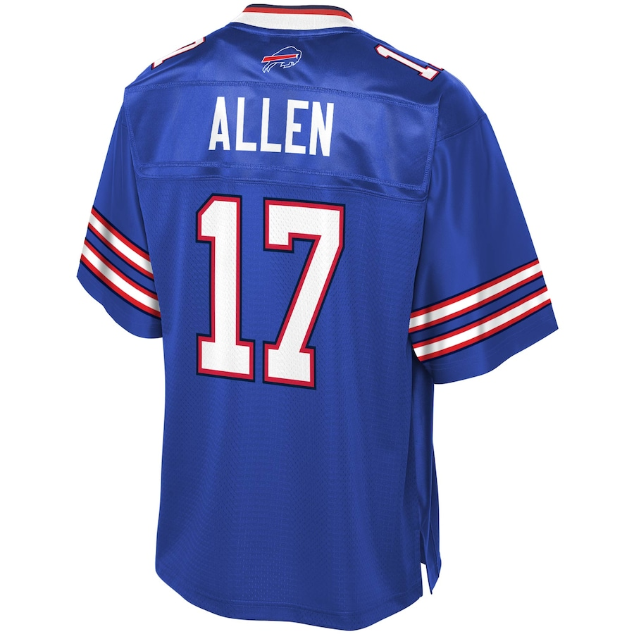 Josh Allen #17 Buffalo Bills Player Jersey - Royal