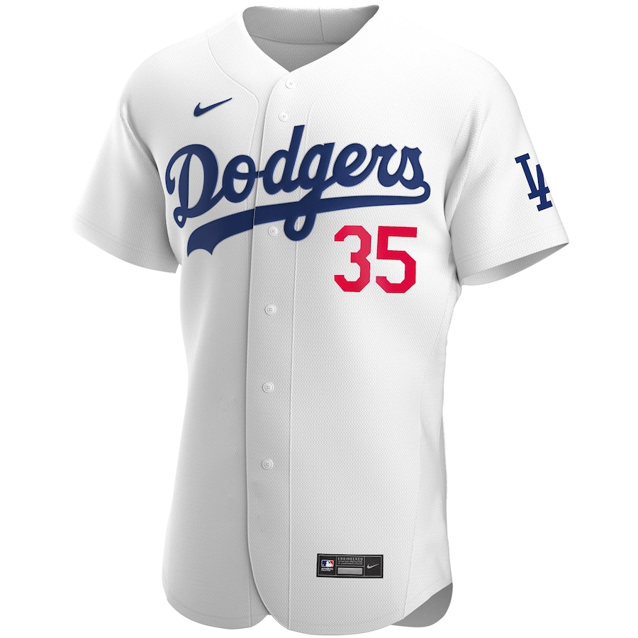 Cody Bellinger #35 Los Angeles Dodgers Home 2020 Authentic Player Jersey - White