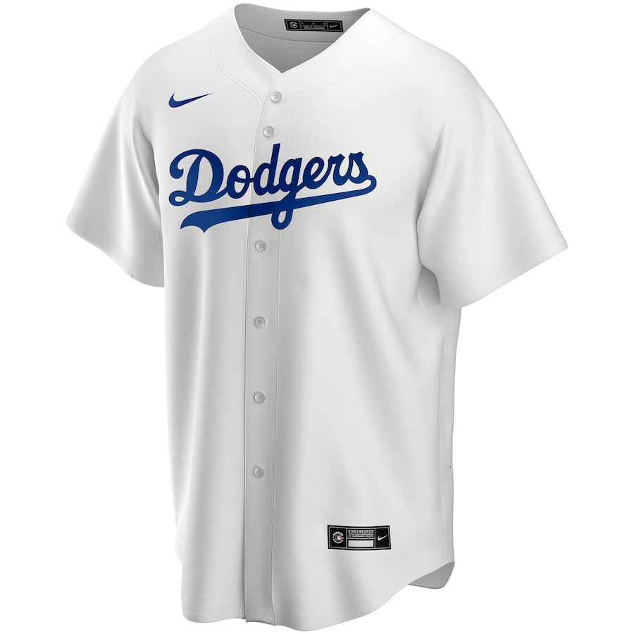 Mookie Betts #50 Los Angeles Dodgers 2020 Home Official Replica Player Jersey - White