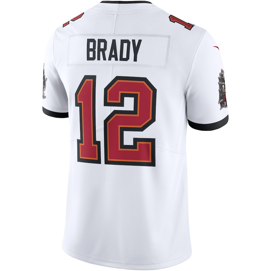 Tom Brady #12 Tampa Bay Buccaneers Vapor Limited Jersey - White