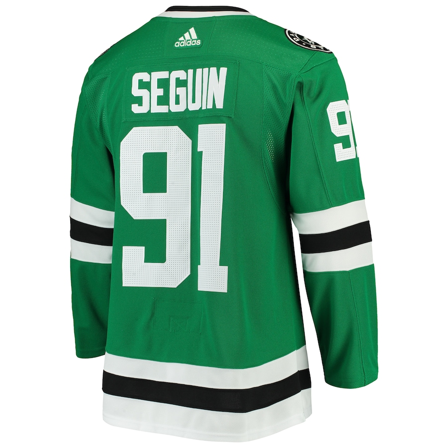 Tyler Seguin #91 Dallas Stars  NHL 2020 Stanley Cup Final Bound Authentic Player Jersey - Kelly Green