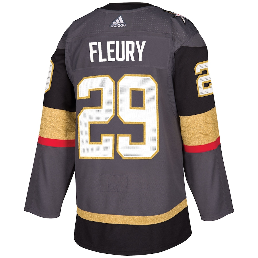 Marc-Andre Fleury #29 Vegas Golden Knights NHL Authentic Player Jersey - Gray