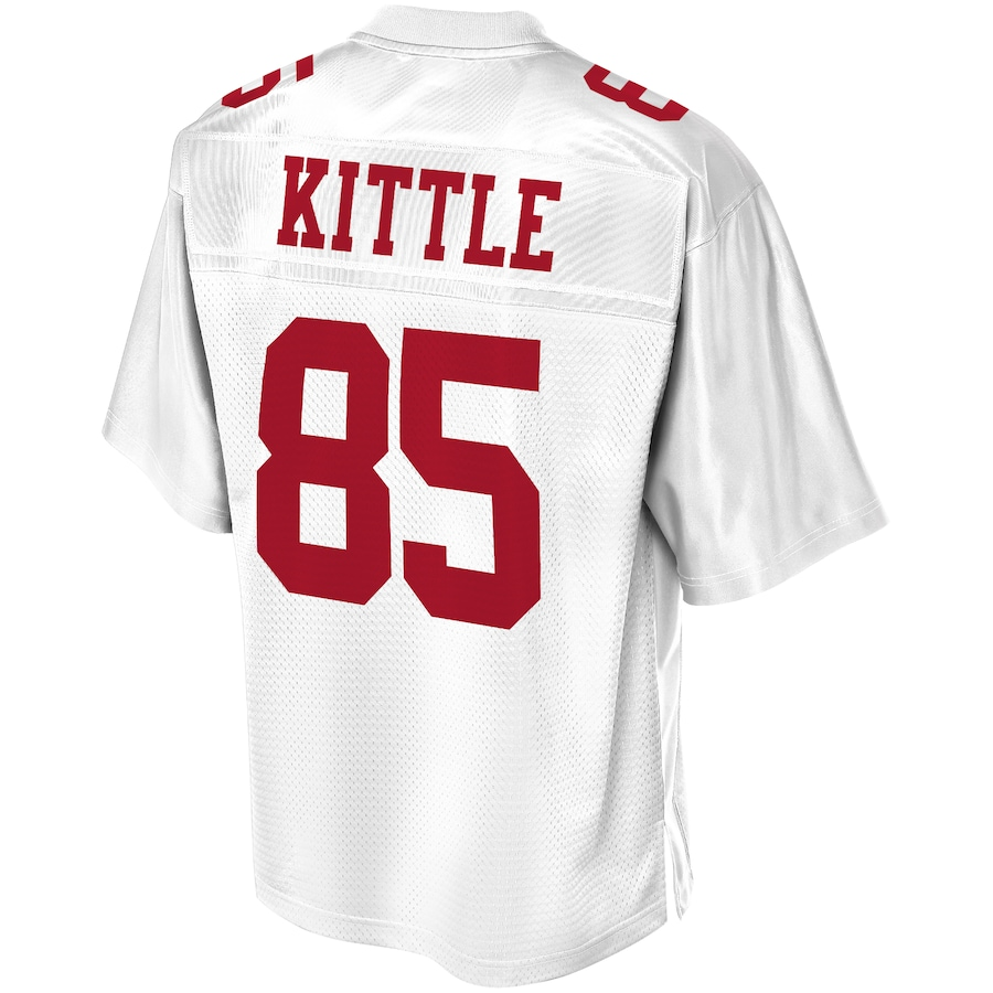 George Kittle #85 San Francisco 49ers NFL Pro Line Player Jersey - White
