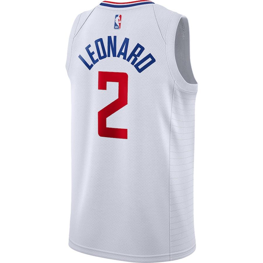 Swingman Kawhi Leonard #2 Los Angeles Clippers Jersey 2019/20 By Nike White
