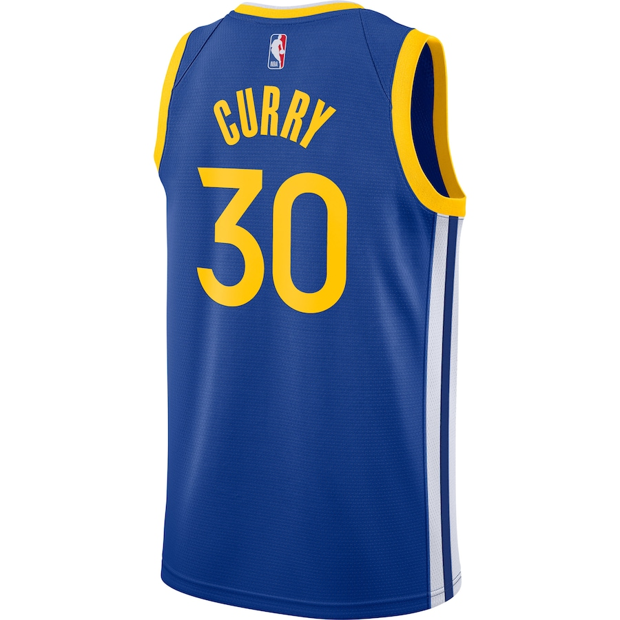Swingman Stephen Curry #30 Golden State Warriors Jersey 2020/21 By Nike Royal