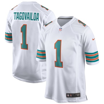NFL Tagovailoa #1 Miami Dolphins Game Jersey