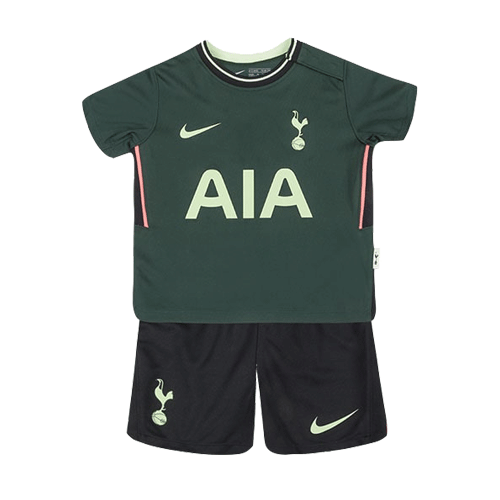 20/21 Tottenham Hotspur Away Dark Green Children's Jerseys Kit(Shirt+Short)