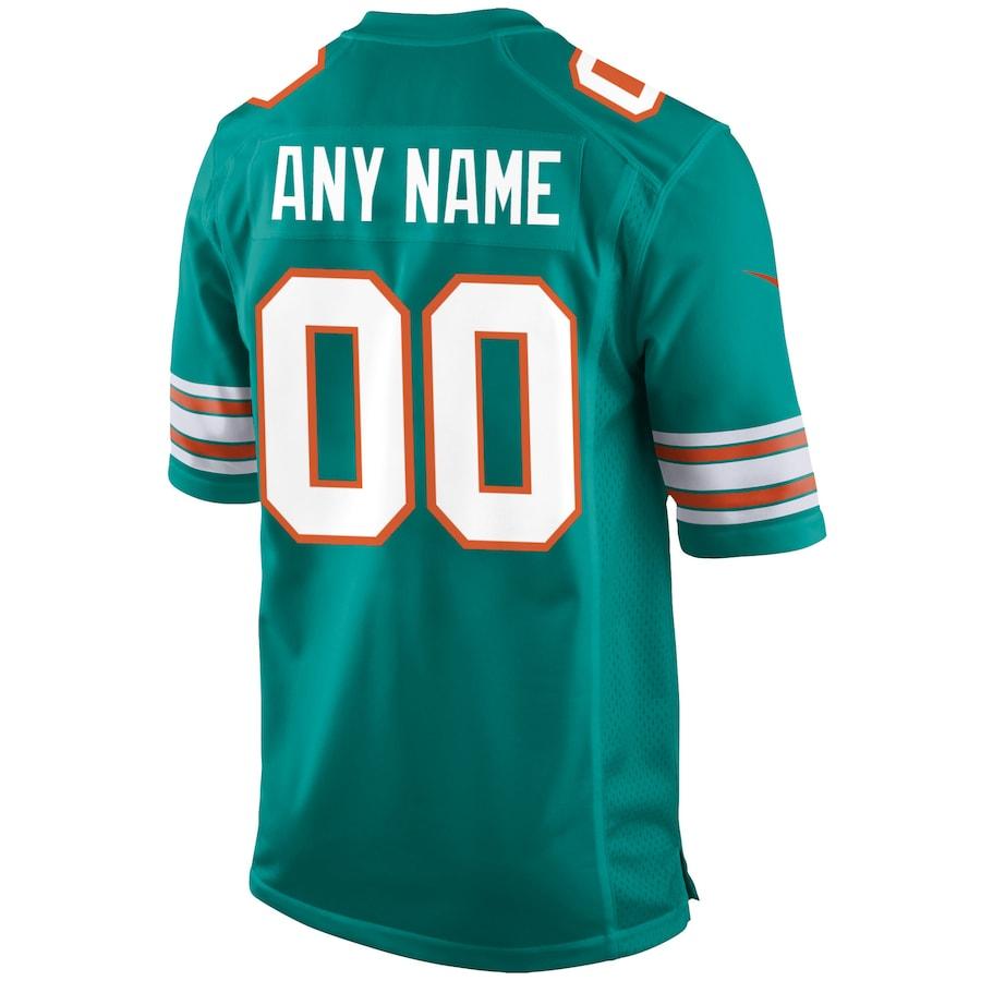 Men's Miami Dolphins NFL Nike Aqua Alternate Vapor Limited Jersey