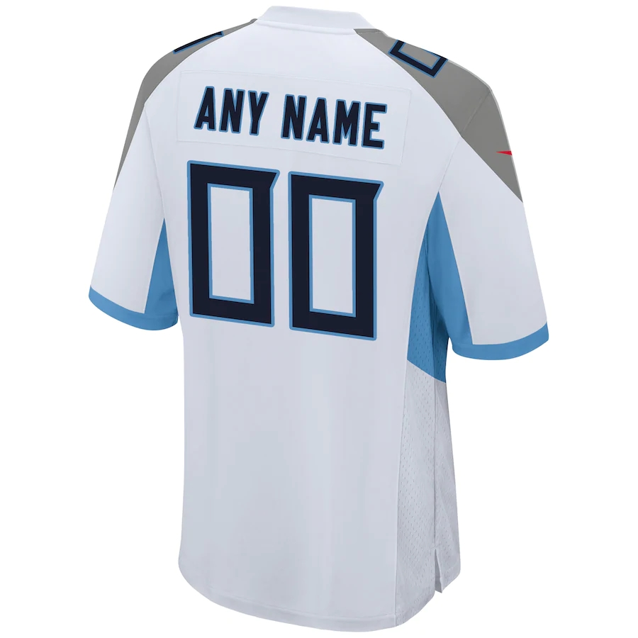 Men's Tennessee Titans NFL Nike White Vapor Limited Jersey