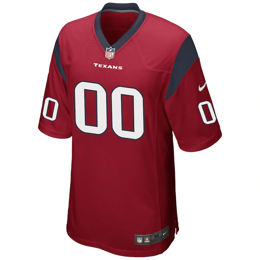 Men's Houston Texans NFL Nike Red Alternate Vapor Limited Jersey