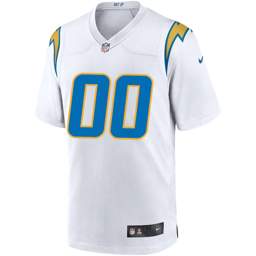 Men's Los Angeles Chargers NFL Nike White Vapor Limited Jersey