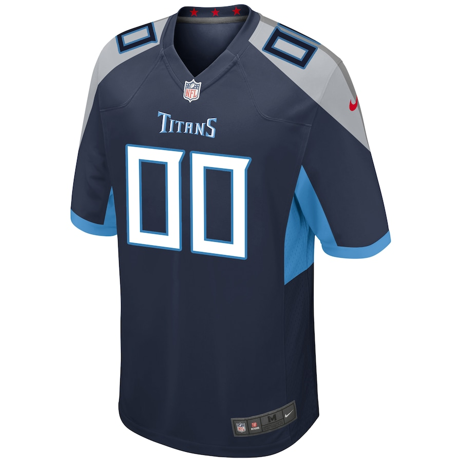 Men's Tennessee Titans NFL Nike Navy Vapor Limited Jersey