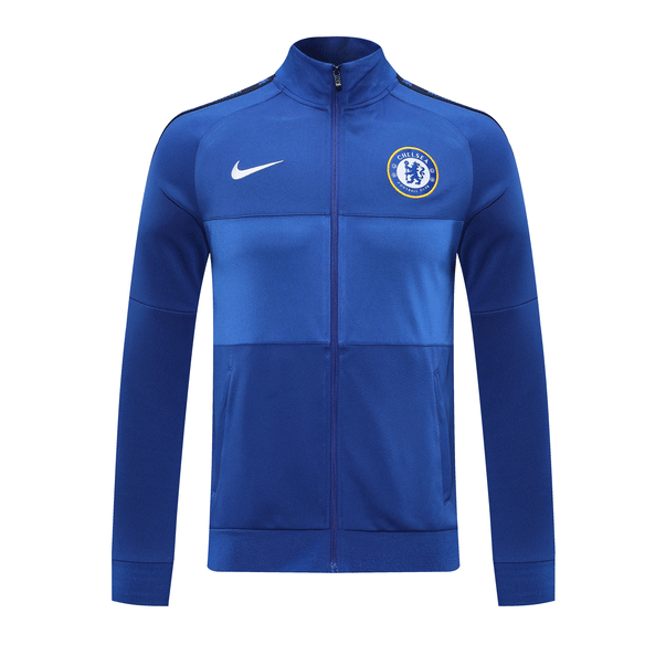 20/21 Chelsea Authentic Full-Zip Jacket Blue Training Jacket