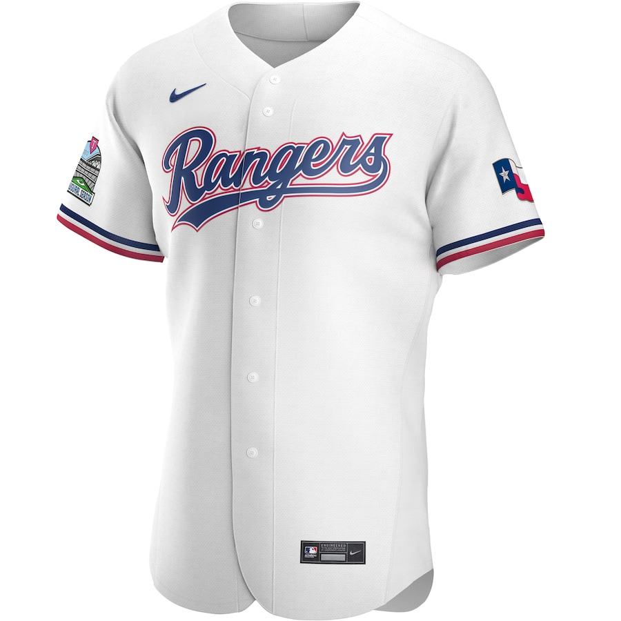 Joey Gallo #13 Texas Rangers Nike Home 2020 Authentic Player Jersey - White